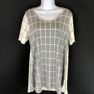 Lularoe Women's Gray Tunic Top M